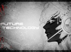 Fantasy et Science Fiction Future techno black