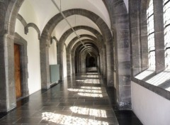 Constructions and architecture abbaye de Maredsous Belgique
