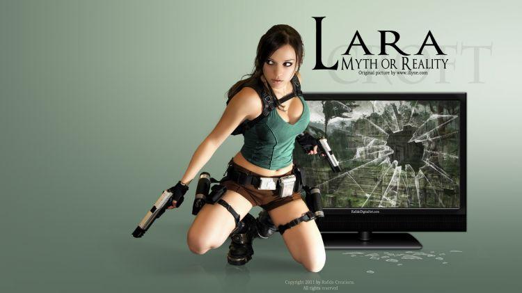 Fonds d'�cran Jeux Vid�o Tomb Raider Lara CROFT