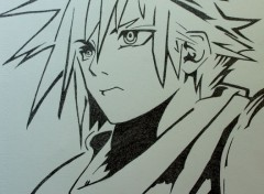 Art - Pencil Cloud Strife