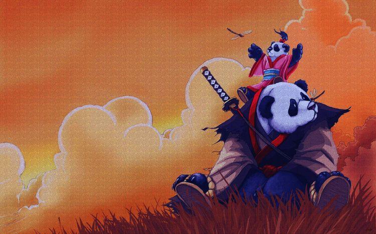 Fonds d'écran Dessins Animés Divers Pandy Panda mes héros.