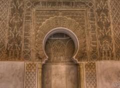 Constructions et architecture Mihrab