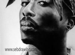 Art - Crayon TUPAC