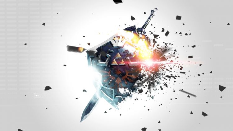 Wallpapers Video Games Zelda Bouclier Zelda
