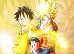 Manga SonGoku x Luffy
