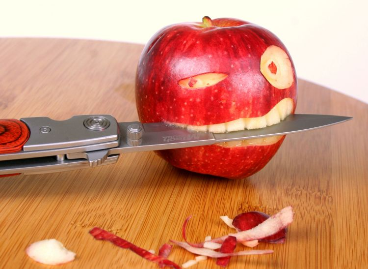 Wallpapers Nature Fruits mangez des pommes