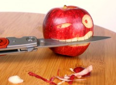 Nature mangez des pommes