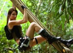 Célébrités Femme Lara Croft