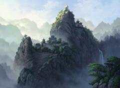 Digital Art Paysage Asiatique