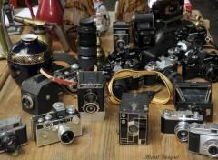 Objects Vieux appareils photos