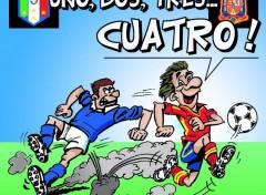 Humour L'Espagne finaliste de l'EURO 2012