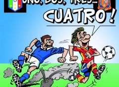 Humor L'Espagne finaliste de l'EURO 2012