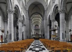 Constructions and architecture Cathédrale Saint Martin (Ypres  Belgique)