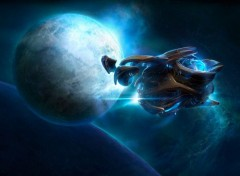 Video Games vaisseau protoss