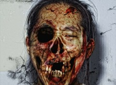 Digital Art Korean zombie