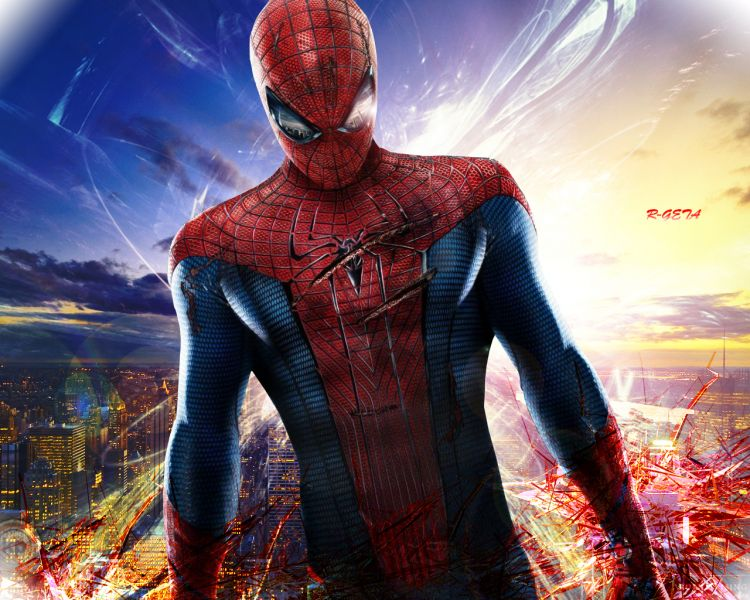 Fonds d'écran Cinéma Spider-Man The amazing spider man n°2