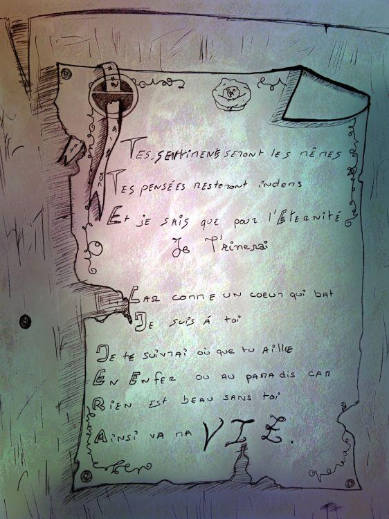 Wallpapers Art - Pencil Love - Friendship Wallpaper N°308292