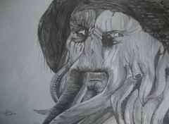 Art - Pencil Davy Jones