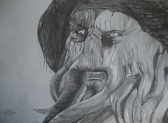 Art - Crayon Davy Jones