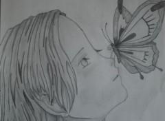 Art - Crayon Petite fille