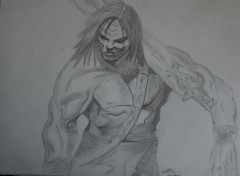 Art - Pencil Conan le barbar
