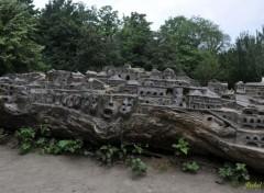 Objects Tronc d'arbre sculpté