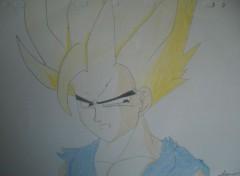Art - Crayon dragon ball z
