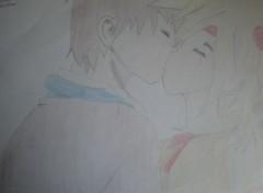 Art - Crayon Couple