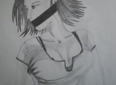 Art - Pencil Prisonniere