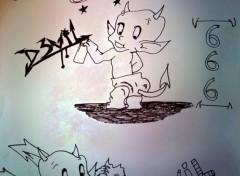 Art - Crayon Diablotin
