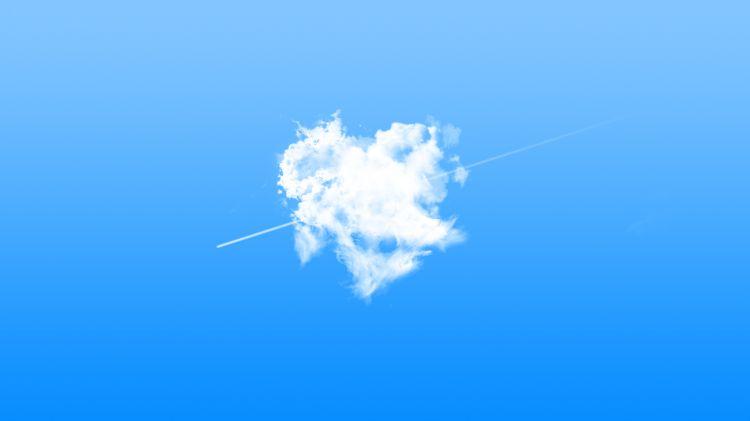 Wallpapers Nature Skies - Clouds Cloud heart