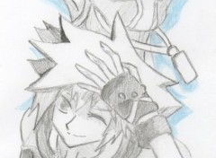 Art - Pencil Kingdom Hearts 3D : Dream Drop Distance