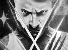 Art - Crayon Wolverine
