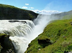 Voyages : Europe Chute d'or (Gullfoss)