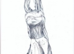 Art - Pencil fille