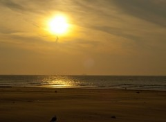 Nature Plage de Calais - Coucher de soleil