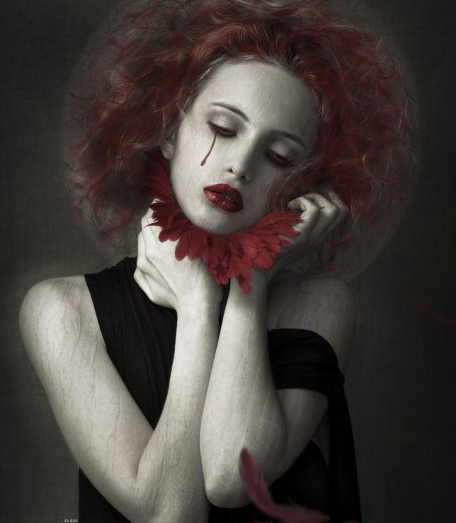 Wallpapers Digital Art Photomanipulation Bloodflower