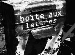 Objects Une simple boite aux lettres.