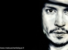Celebrities Men dessin de Johnny Depp