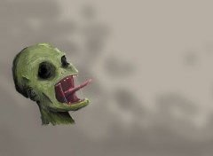 Digital Art Zombie