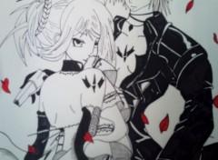 Art - Crayon couple manga