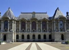 Constructions and architecture Le palais des Beaux Arts de Lille