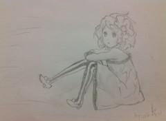 Art - Pencil K-ON! Yui