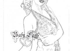 Art - Pencil beaute d'une femme