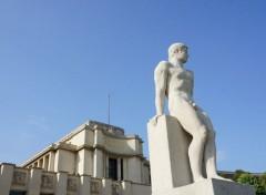 Constructions et architecture Plusieurs  sculptures et statues du Trocadéro.