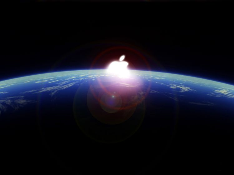 Wallpapers Computers Apple Apple eclipse