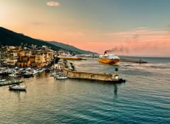 Voyages : Europe Port de Bastia
