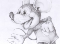 Art - Crayon Mickey!