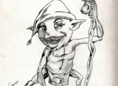 Art - Crayon Gobelins et Trolls divers