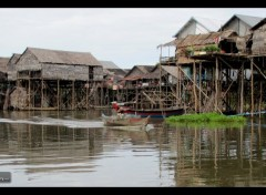 Trips : Asia Village Flottant de Kompong Pluck (Cambodge).
